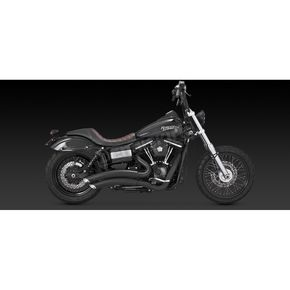 Black Super Radius Exhaust System - 46053