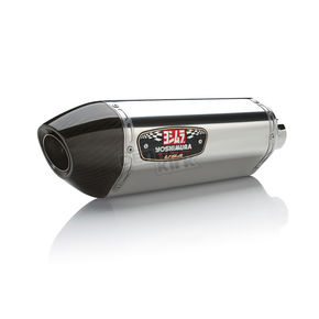Yoshimura R77 Stainless/Stainless/Carbon Fiber Signature Series Slip-On Muffler - 16690E0520