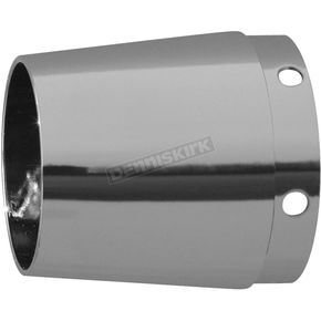 Rush Racing Products Chrome 4 in. Tapered Exhaust Tip  - 4022