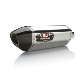 Yoshimura Stainless/Stainless/Carbon Fiber R-77 Signature Series Slip-On Muffler - 16290E0520