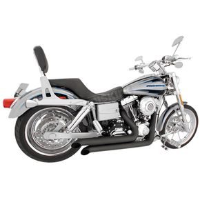 Freedom Performance Black Declaration Turn Out Exhaust System - HD00047