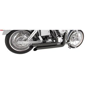 Freedom Performance Black Declaration Turn Out Exhaust System - HD00071