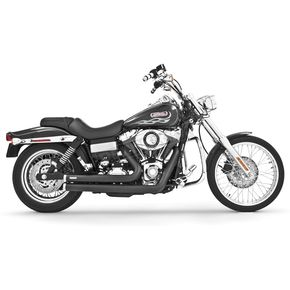 Freedom Performance Black Independence Shorty Exhaust System - HD00046