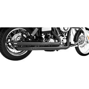 Freedom Performance Black Patriot Slash Down Long Exhaust System - HD00069