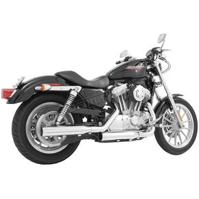 Freedom Performance Chrome Signature Series Slip-On Mufflers - HD00197