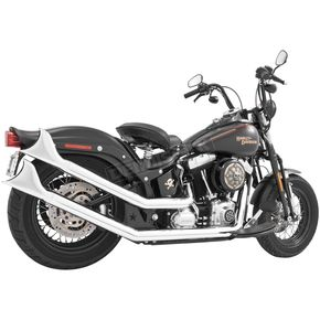 Freedom Performance Chrome Sharktail Upsweeps Exhaust System - HD00264