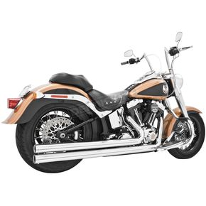 Freedom Performance Chrome Independence Long 2-into-2 Exhaust System - HD00031