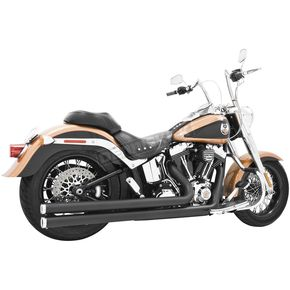 Freedom Performance Black Independence Long Exhaust System - HD00038