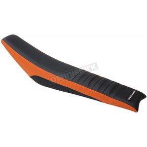 Saddlemen Orange Pleated Extreme  Gripper Sides Replacement Seat Cover - MXKT-195-0003
