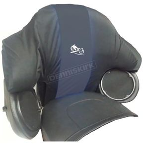 BikeSheath Passenger Backrest Rain Cover - 03163