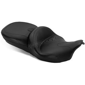 Mustang Seats Black Summit Super Tour One-Piece Vintage Seat - 76860