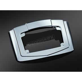 Kuryakyn Chrome License Plate Rear Accent Panel - 3139