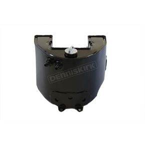 V-Twin Manufacturing Black Replica Oil Tank - 40-0424