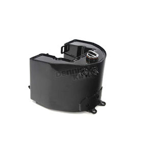 V-Twin Manufacturing Black Replica Oil Tank - 40-0996
