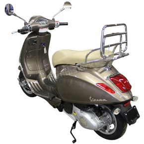 Cuppini Chrome Folding Rear Rack for Vespa Primavera - 0200-0141