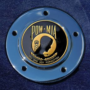 Motordog69 Max 1.8  Timing Cover Coin Mount With POW*MIA 2-Sided Coin - JMPC-M-5-POW-MIA
