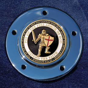 Motordog69 Max 1.8  Timing Cover Coin Mount With Armor Of God 2-Sided Coin - JMPC-M-5- AOG