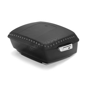 Mustang Seats Black King Tourpak Lid Cover w/Black Studs - 77627