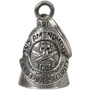 Pewter 2nd Amendment Guardian Bell - BEA2001
