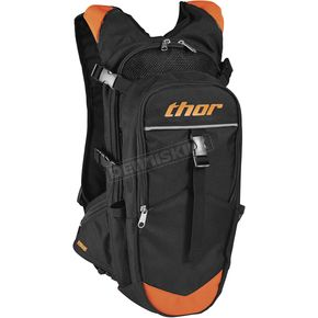 Thor Black/Red Orange Hydrant Hydration Pack - 3519-0032
