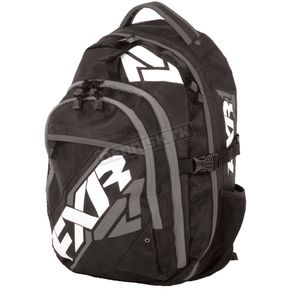 FXR Racing Black/Charcoal Motion Backpack - 15905.20100