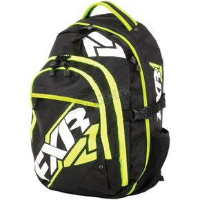 FXR Racing Black/Lime Motion Backpack - 15905.70100