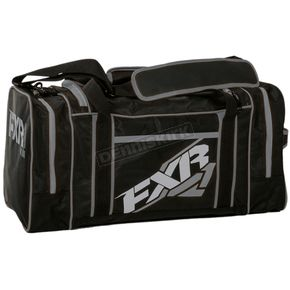 FXR Racing Black/Charcoal Duffel Bag - 15906.20100