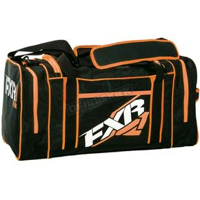 FXR Racing Black/Orange Duffel Bag - 15906