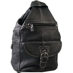 Hot Leathers Leather 6 Pocket Backpack Purse - BPA1011