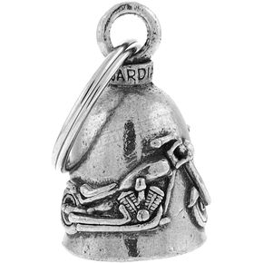 Hot Leathers Pewter Chopper Guardian Bell - BEA1068