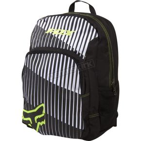 Fox Black/White Kicker 2 Backpack - 02975-018