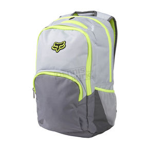 Fox Light Grey Lets Ride Backpack - 03057-097
