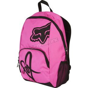 Fox Day Glo Pink Road Trip Backpack - 01626-269
