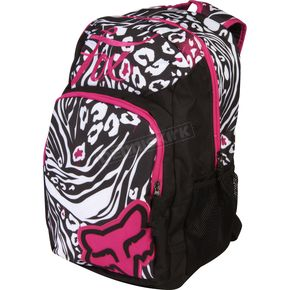 Fox Black/White Dirt Vixen Backpack - 01627