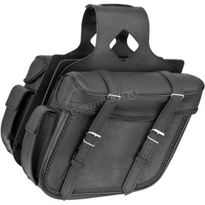 River Road Braided Large Slant Momentum Saddlebags - 10-9012