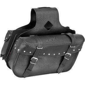River Road Studded Medium Slant Momentum Saddlebags - 10-9008