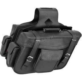 River Road Classic X-Large Slant Momentum Saddlebags - 10-9013