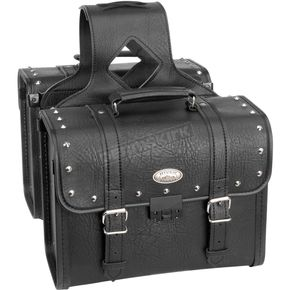 River Road Studded Rigid Box Quest Saddlebags w/Lock - 10-8972