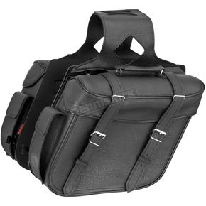 River Road Classic Large Quantum Slant Saddlebags - 10-8995