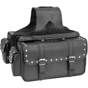 River Road Studded Medium Quantum Saddlebags - 10-8987