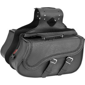 River Road Braided Medium Quantum Slant Saddlebags - 10-8991