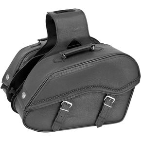 River Road Braided Large Quantum Windswept Saddlebags - 10-8994