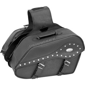 River Road Studded Large Quantum Windswept Saddlebags - 10-8993