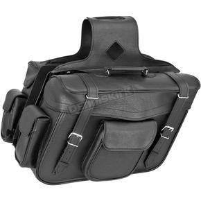 River Road Classic X-Large Quantum Slant Saddlebags - 10-8998