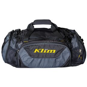 Black/Gray Deluxe Duffel Bag - 4014-000-000-000