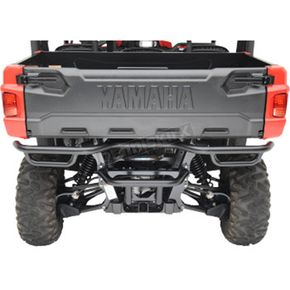 Moose Black Powdercoat Rear Bumper - 0530-1330