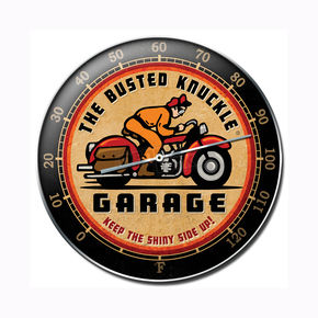 Mustang Busted Knuckle Garage Thermometer - 64021