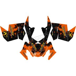 Klim Orange Graphics Kit - 2010
