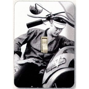 Mustang Seats Elvis Switchplate Cover - 64895