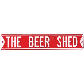 Mustang Seats Beer Shed Parking Sign - 63018